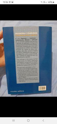 """Livro """"Ergonomia e Usabilidade"""". Novo. - Foto 2"""