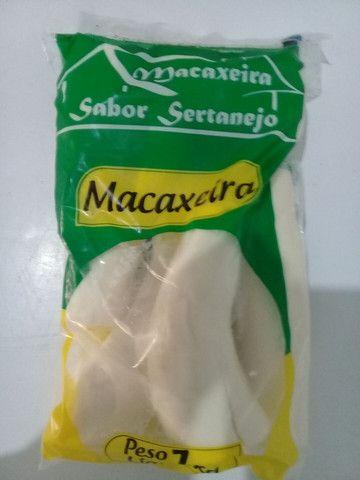 Macaxeira congelada.   Goma de tapioca. Fatinha de mandioca.. polpa de fruta.