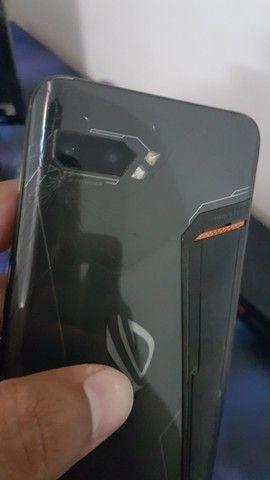 Rog phone 2 display  queimado - Foto 2