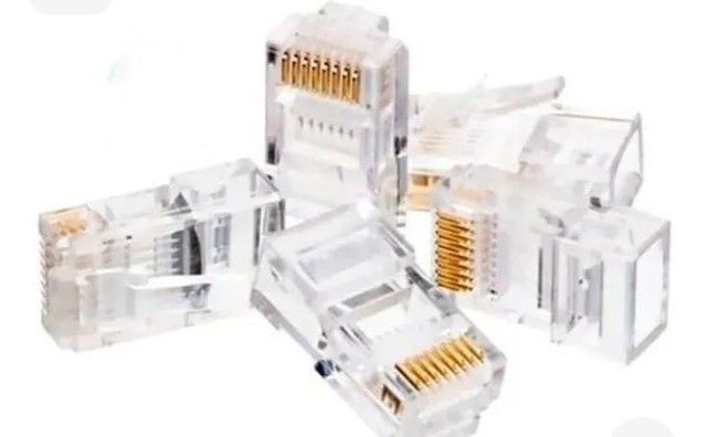 100 RJ45 cabo de rede - Foto 2