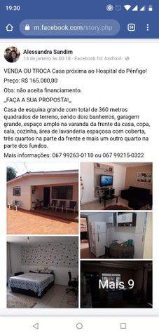 Casa - VENDA/TROCA (para região saída pra Três Lagoas) ou Venda