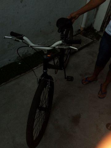Bicicleta aro 26 reformada - Foto 4