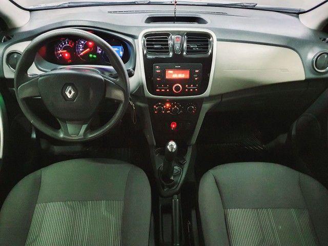 Renault Logan Expression 1.0 12v  Hiflex, 2020 na cor Branca. - Foto 7