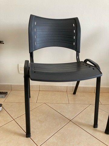 Cadeira escritório preta - Foto 2
