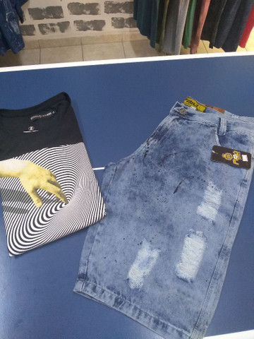 Camiseta e Bermudas - Foto 4