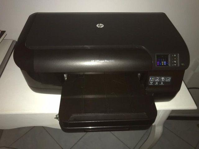 Impressora HP Office Jet Pro 8100. Perfeito Estado. Zero defeito