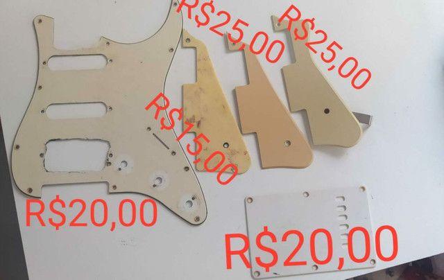 Escudos e captadores de guitarra - Foto 2