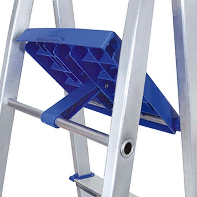 Escada Aluminio 8 Degraus MOR - 005106 - Foto 3