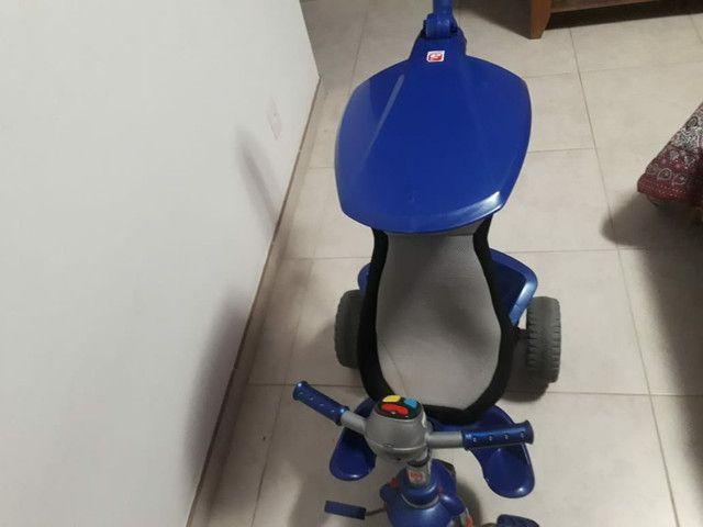 Triciclo smart confort bandeirande azul - Foto 2