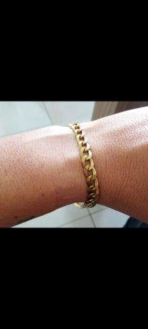 Pulseira de ouro  - Foto 2