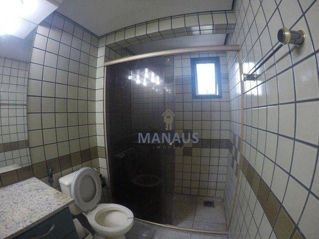 Apartamento com 4 dormitórios para alugar, 186 m² por R$ 3.900/mês - Adrianópolis - Manaus - Foto 18