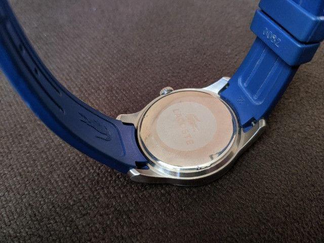 Relógio Lacoste Advantage Azul / Branco - aço inoxidável - Foto 6