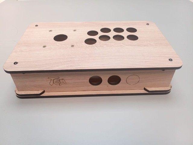 Caixa para Montar controle Arcade TGM - Padrão Americano ou Sanwa - Foto 6