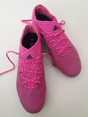 Chuteira Adidas Nemezis Profissional 19.1 Nova Sem Uso - Foto 4