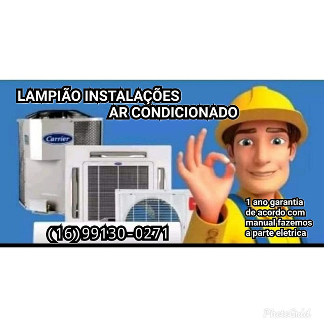 Eletricista instalação de ar condicionado