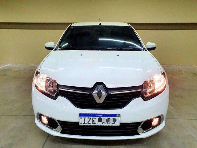 Renault Logan Expression 1.0 12v  Hiflex, 2020 na cor Branca. - Foto 3