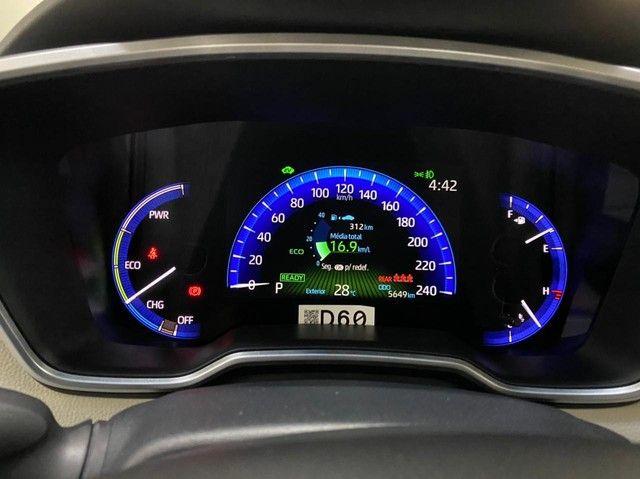 Corolla Altis Hybrid Premium 20/21 5.600 km ! - Foto 14