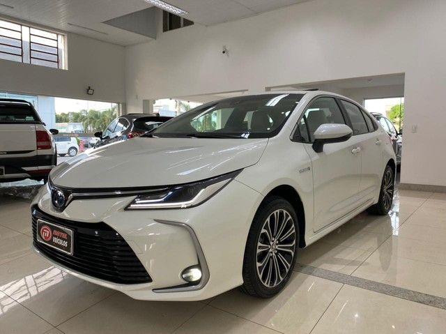 Corolla Altis Hybrid Premium 20/21 5.600 km ! - Foto 2