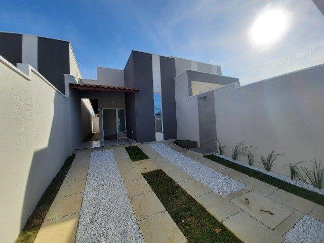 JP casa nova de 3 quartos 2 banheiros com fino acabamento