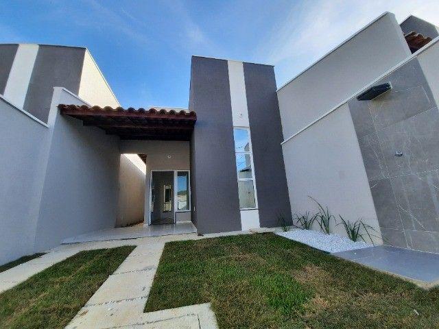 JP casa nova de 3 quartos 2 banheiros com fino acabamento - Foto 2