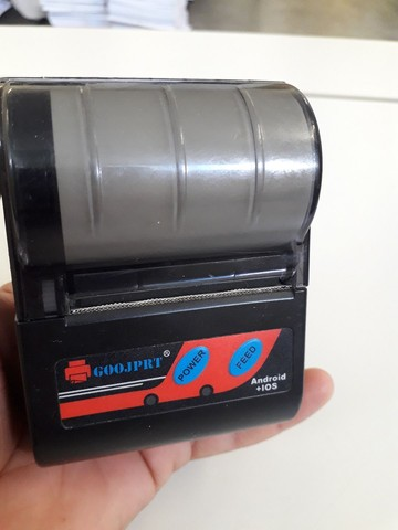 Impressora goojprt bluetooth portátil