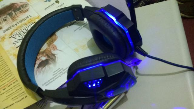 Headset bass HD stereo c/ entradas