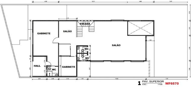 PT0020 Prédio comercial, 6 escritórios, 10 vagas, ponto comercial no Papicu, próx metrofor - Foto 9
