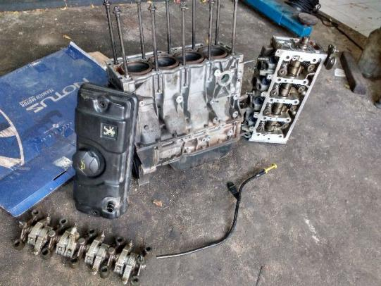 Motor Peogeot 1.4 Completo 2011 Procedência