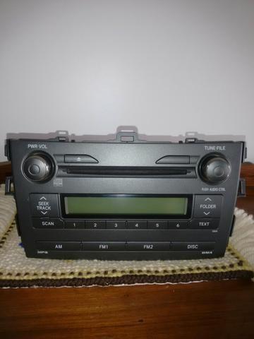 Rádio Corolla 2009