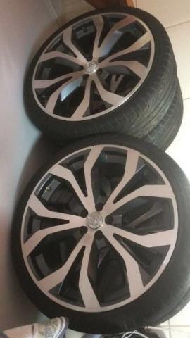 Rodas aro 20 pneus pirelli 5furos