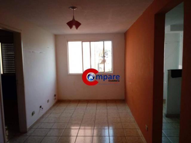 Apartamento à venda, 52 m² por r$ 165.000,00 - cidade parque brasília - guarulhos/sp
