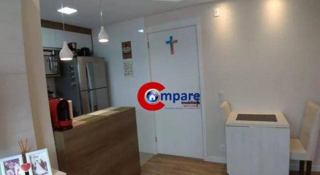 Apartamento com 2 dormitórios à venda, 44 m² por r$ 265.000 - vila rio de janeiro - guarul - Foto 11