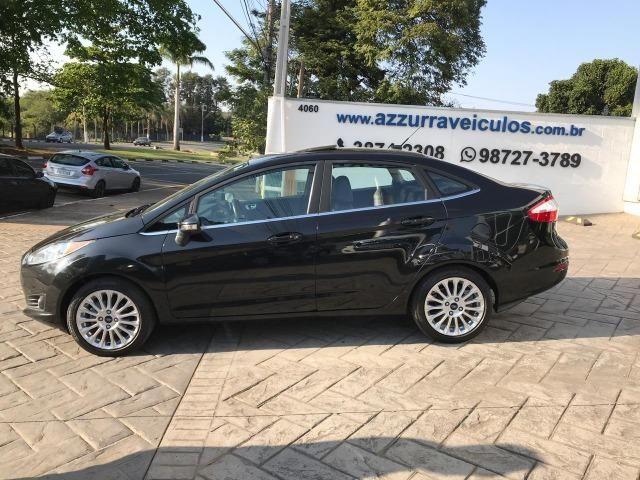 Ford new fiesta 1.6 titanium sedan 16v flex 4p powershift 2015 - Foto 4