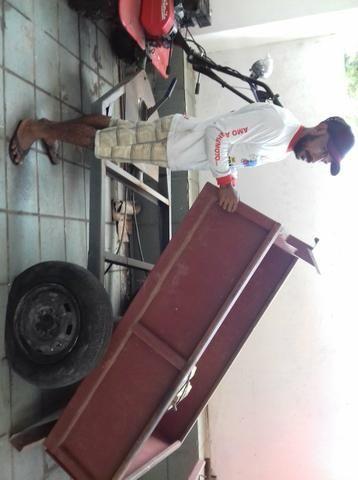 Vendo um tratorito a gasolina com um ano de uso semi novo - Foto 3