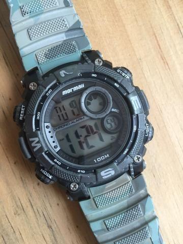 1bdc0403eac Relógio Masculino Mormaii 100m - Bijouterias