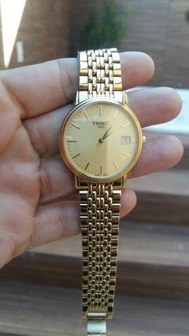 833afff7d81 Relogio tissot feminino banhado a ouro - Bijouterias