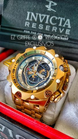 0025808d617 INVICTA Gold 18k Realmente ORIGINAIS ® Melhor PREÇO - Bijouterias ...