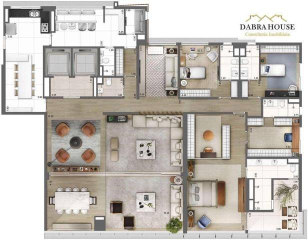 Apartamento à venda com 4 dormitórios em Vila olímpia, São paulo cod:AP0875 - Foto 2