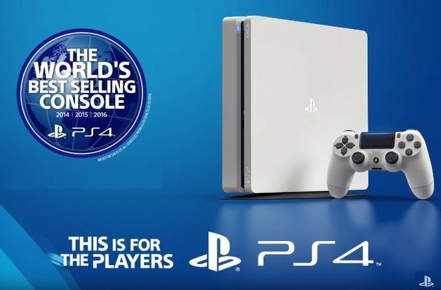 Playstation 4 Slim Branco 500Gb, Melhor preço!! opção 12x - Foto 2