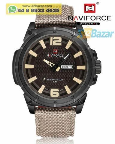0cfc1c4d76d Relógio masculino Naviforce Original - Promoção - Bijouterias ...