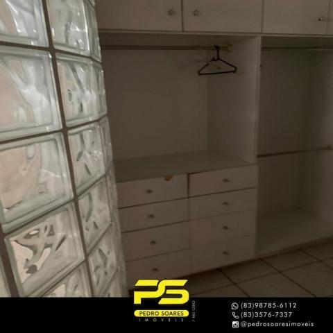 Apartamento com 3 dormitórios à venda, 73 m² por R$ 400.000 - Tambaú - João Pessoa/PB - Foto 14