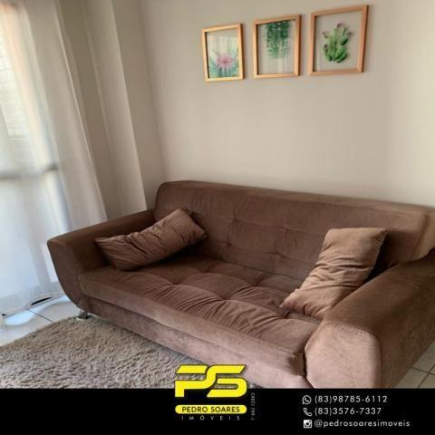 Apartamento com 3 dormitórios à venda, 73 m² por R$ 400.000 - Tambaú - João Pessoa/PB - Foto 7