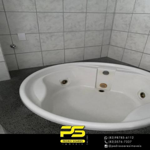 Apartamento com 3 dormitórios à venda, 73 m² por R$ 400.000 - Tambaú - João Pessoa/PB - Foto 5