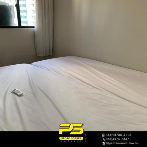 Apartamento com 3 dormitórios à venda, 73 m² por R$ 400.000 - Tambaú - João Pessoa/PB - Foto 12