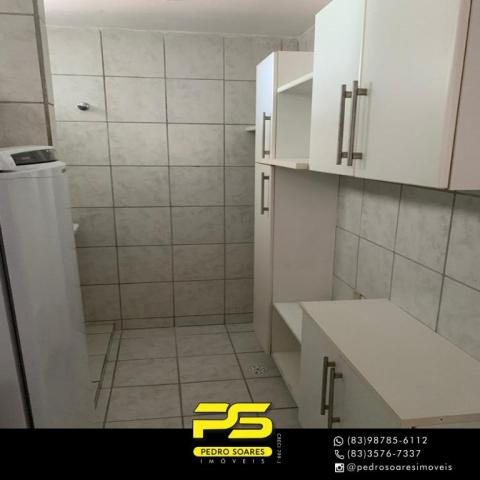 Apartamento com 3 dormitórios à venda, 73 m² por R$ 400.000 - Tambaú - João Pessoa/PB - Foto 15