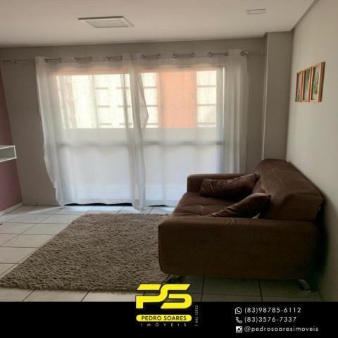 Apartamento com 3 dormitórios à venda, 73 m² por R$ 400.000 - Tambaú - João Pessoa/PB - Foto 13