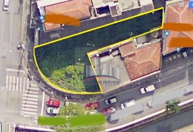 Terreno à venda, 420 m² por R$ 750.000,00 - Vila Matias - Santos/SP - Foto 2