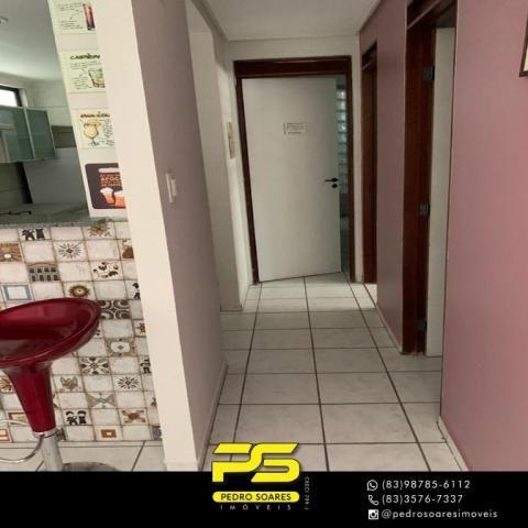 Apartamento com 3 dormitórios à venda, 73 m² por R$ 400.000 - Tambaú - João Pessoa/PB - Foto 9