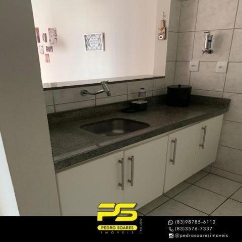 Apartamento com 3 dormitórios à venda, 73 m² por R$ 400.000 - Tambaú - João Pessoa/PB - Foto 10