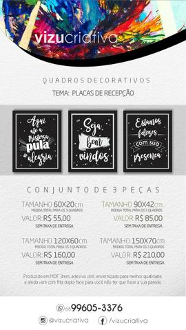 Quadros Decorativos a partir de R$15,00 - Foto 5